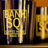 Bank Square Ceramic Mugs